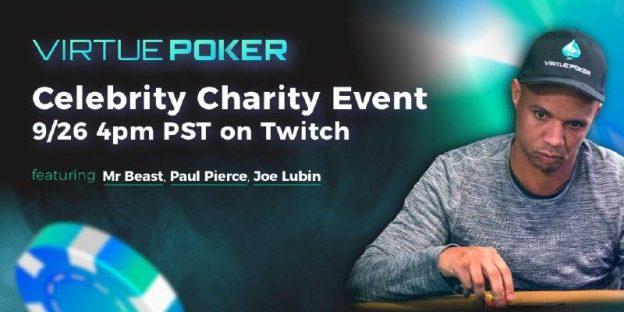 Paul Pierce, Phil Ivey, Mr. Beast, dan Joe Lubin Malam Ini Dalam Turnamen Poker Amal Selebriti yang Ditunggu-tunggu di Virtue Poker