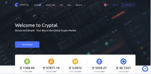Ulasan Pertukaran Cryptal - Perdagangan Crypto yang Aman Dan Sederhana
