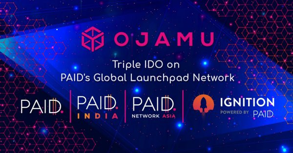 Ojamu Mengumumkan Penjualan Publik IDO-nya Di Beberapa Jaringan BERBAYAR dan Launchpad Global Ignition